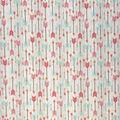 Novelty Cotton Fabric-Pastel Arrows Wood