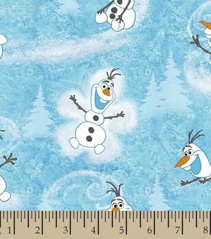 Disney Frozen Cotton Fabric -Olaf