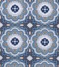 Snuggle Flannel Fabric -Serene Medallion