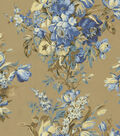 Waverly Lightweight Décor Fabric 54\u0022-Grand Entrance Blue Jay