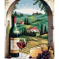 Dimensions Needlepoint Kit Tuscan View