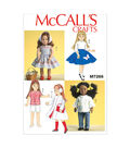 McCall\u0027s Crafts Doll Clothes-M7266
