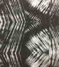 Knit Prints Rayon Spandex Fabric-Black Gray Tie Dye
