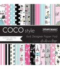 Penny Black Coco Style Paper Pad 6\u0027\u0027x6\u0027\u0027