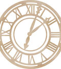 Wood Flourishes-Roman Clock Face