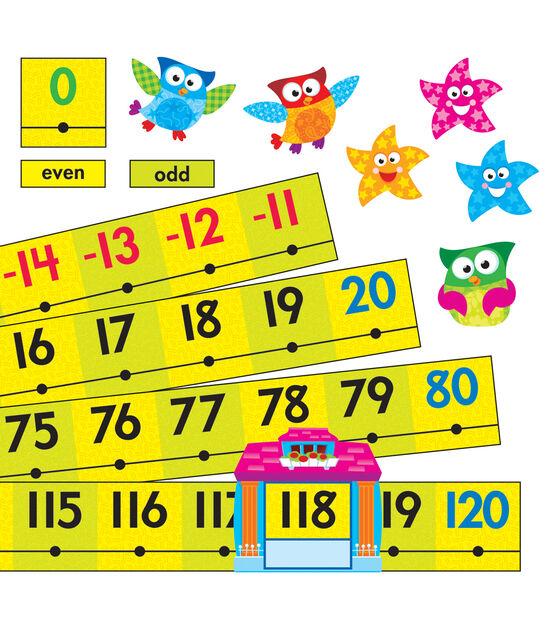 Owl Stars! Number Line  20 to 120 Bulletin Board Set, , hi-res, image 1