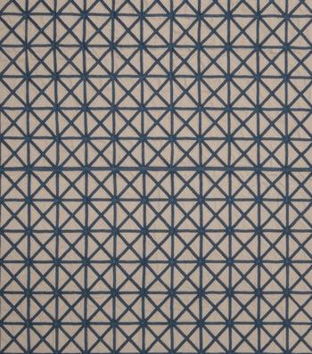"Home Decor 8""x8"" Fabric Swatch-Jaclyn Smith Tasty Cobalt"