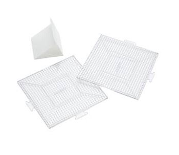 Perler Replacement Pegboards Square Clear