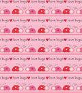 Valentine\u0027s Day Fabric -Love Bugs