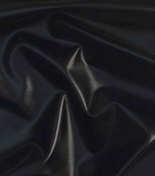 Cosplay by Yaya Han 4-Way Metallic Fabric -Metallic Black