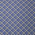 Super Snuggle Flannel Fabric-Kate Blue & Black Plaid