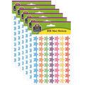 Teacher Created Resources Scribble Stars Mini Stickers 6 Packs