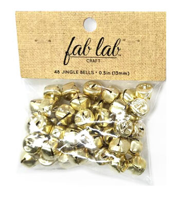"1/2"" Big Value Gold Bells"