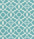 Waverly Upholstery Fabric 55\u0022-Lovely Lattice Aqua