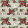 Christmas Cotton Fabric-Country Drive
