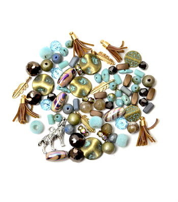 Jesse James Packaged Beads-Iroquois Mini Mix