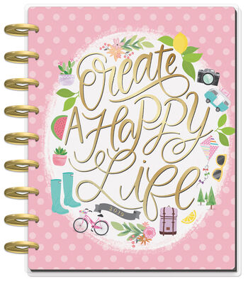Happy Planner 12 Month Classic Planner-Create a Happy Life