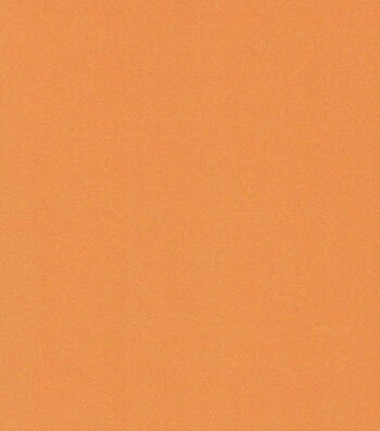 Glitterbug Satin Fabric -Solid Orange