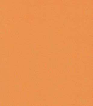 Glitterbug Satin Fabric -Solid Orange