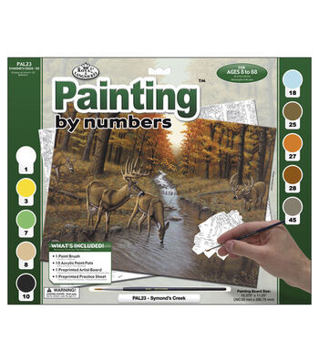 15-3/8''x11-1/4'' Adult Paint By Number Kit-Symond's Creek