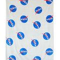 Fleece Blanket 48x60\u0022-Nasa Logos  by Riley Blake
