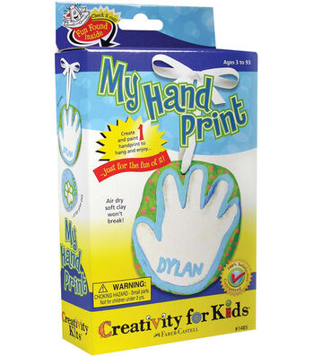 Creativity for Kids Kit-My Handprint