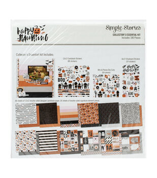 Simple Stories Collector's Essential Kit 12''X12''-Happy Haunting