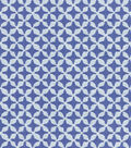 Waverly® Surat Stamp Upholstery Fabric 56\u0022-Prussian
