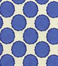 Waverly Upholstery Fabric 55\u0022-Circling Porcelain