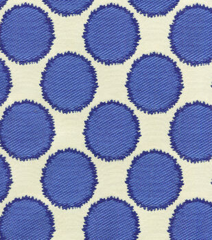 "Waverly Upholstery Fabric 55""-Circling Porcelain"