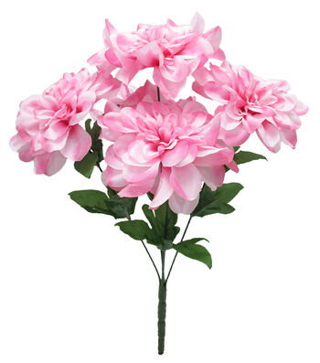 Fresh Picked Spring 16'' Dahlia Bush-Pink