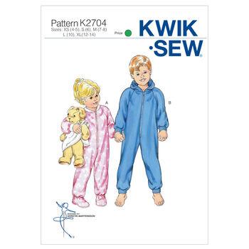 Kwik Sew Pattern K2704 Children's Sleep & Lounge