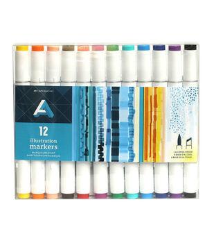 Art Alternatives Illustration Markers Set of 12