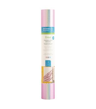 Cricut Permanent Glitter Premium Vinyl Shimmer Samplers-Cotton Candy
