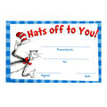 Eureka Cat in the Hat Hats Off to You! Recognition Awards, 36 Per Pack