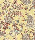 P/K Lifestyles Lightweight Decor Fabric 54\u0022-Asian Arcadia/Persimmon