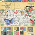 Graphic 45 Collection Pack 12\u0022X12\u0022-Flutter