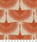Genevieve Gorder Multi-Purpose Decor Fabric 54\u0027\u0027-Tigerlily Flock Circa