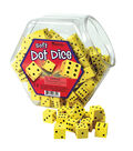 Hands On Soft Dot Dice, 200 Count