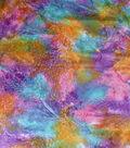 Wide Batik Cotton Fabric 108\u0022-Ethnic Blend