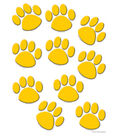 Gold Paw Prints Accents 30/pk, Set Of 6 Packs