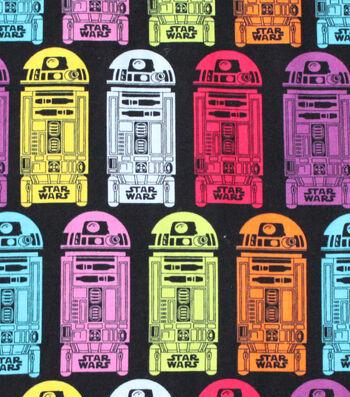 "Star Wars Cotton Fabric 58""-R2D2"