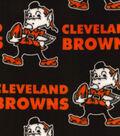 Cleveland Browns Fleece Fabric -Retro