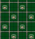 Ohio University Bobcats Flannel Fabric 42\u0022-Plaid