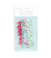DCWV Home 4 Pack Letter Board Words-Travel, , hi-res