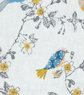 Home Essentials Decor Fabric-Tweet Toile Quartz
