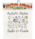 Attitude Artist Apron Natural-Artist\u0027s Studio