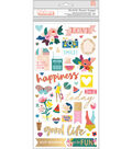 Paige Evans Pick Me Up Thickers Stickers 5.5\u0022X11\u0022 87/Pkg-Icons & Words
