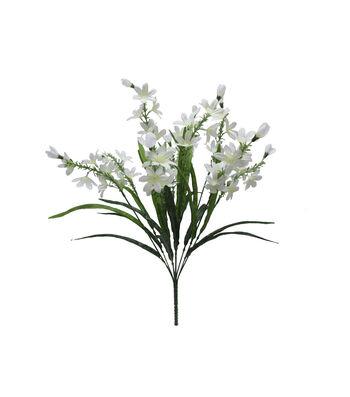 Fresh Picked Spring 22'' Blossom Bush-White