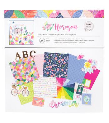 Paige Evans Pink Paislee Project Pad-Horizon